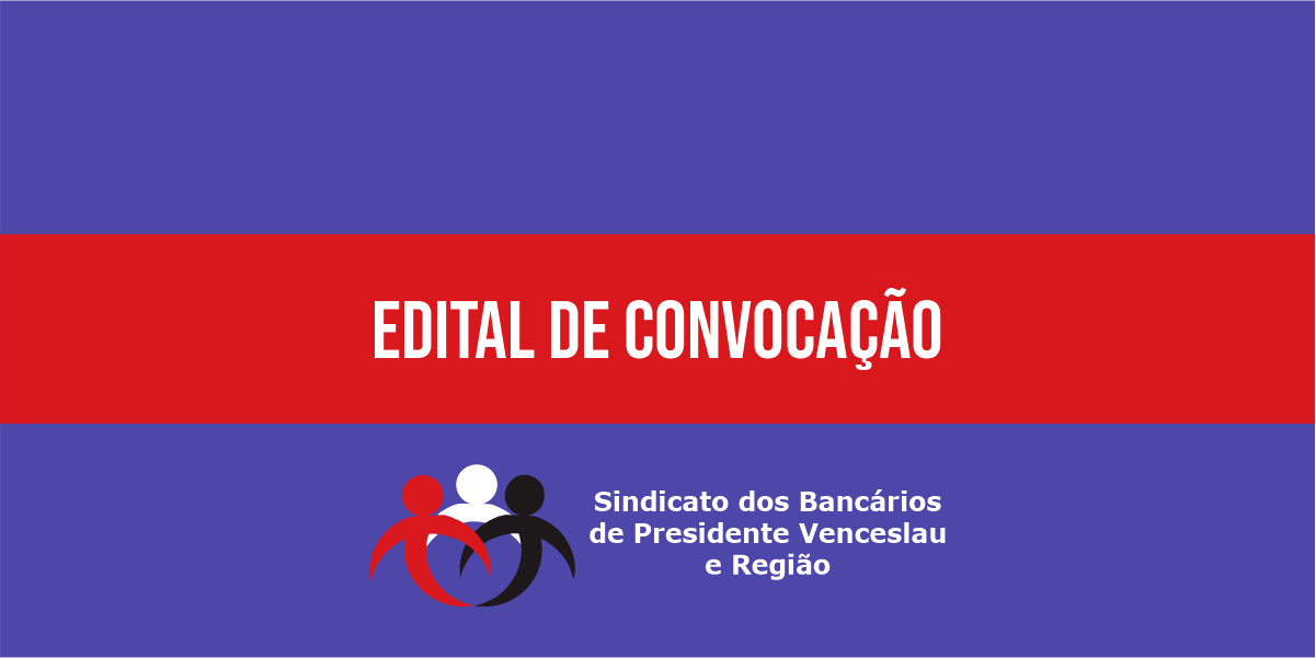 Sindicato convoca bancários do BANCO BRADESCO para assembleia virtual entre os dias 11 e 12 de Setembro de 2020.